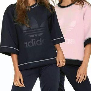 ADIDAS 2-in-1 Reversible Neoprene Boxy T-Shirt